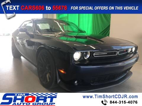 2017 Dodge Challenger for sale at Tim Short Chrysler in Morehead KY