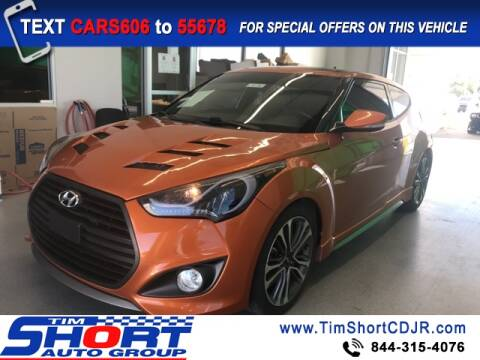 2016 Hyundai Veloster for sale at Tim Short Chrysler in Morehead KY