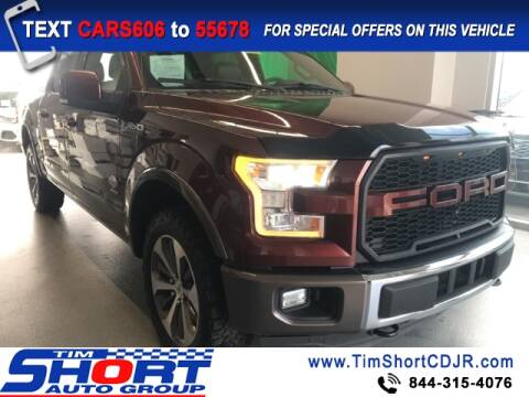 2015 Ford F-150 for sale at Tim Short Chrysler in Morehead KY