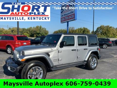 2019 Jeep Wrangler Unlimited for sale at Tim Short Chrysler in Morehead KY