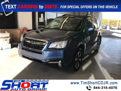 2018 Subaru Forester for sale at Tim Short Chrysler in Morehead KY