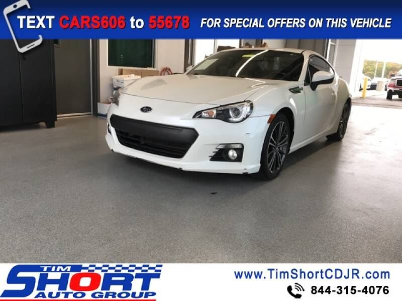 2014 Subaru BRZ for sale at Tim Short Chrysler in Morehead KY