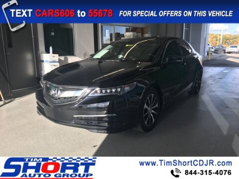 2016 Acura TLX for sale at Tim Short Chrysler in Morehead KY