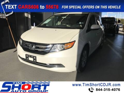 2016 Honda Odyssey for sale at Tim Short Chrysler in Morehead KY