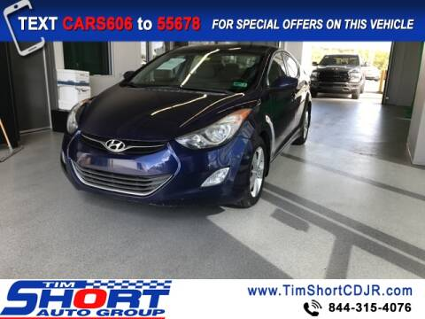 2013 Hyundai Elantra for sale at Tim Short Chrysler in Morehead KY