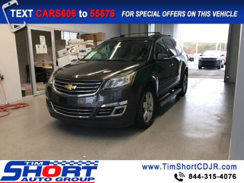 2015 Chevrolet Traverse for sale at Tim Short Chrysler in Morehead KY