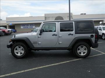 2015 Jeep Wrangler Unlimited for sale in Morehead, KY