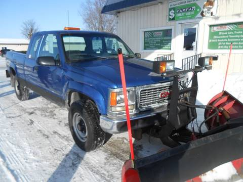 1997 GMC Sierra 2500 for sale in Wadena, MN