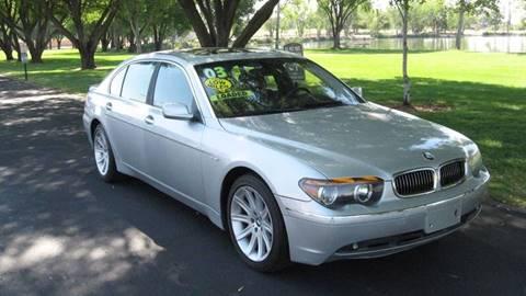 Worksheet. 2003 BMW 7 Series For Sale  Carsforsalecom