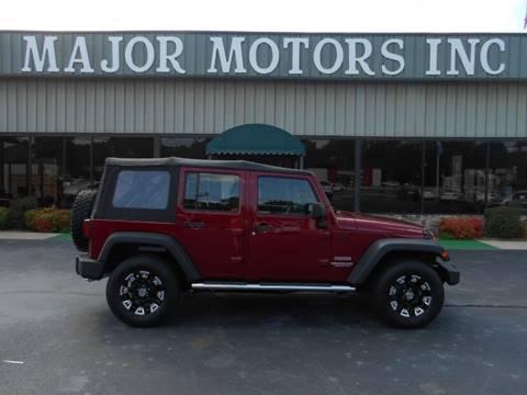 2012 Jeep Wrangler Unlimited for sale in Arab, AL