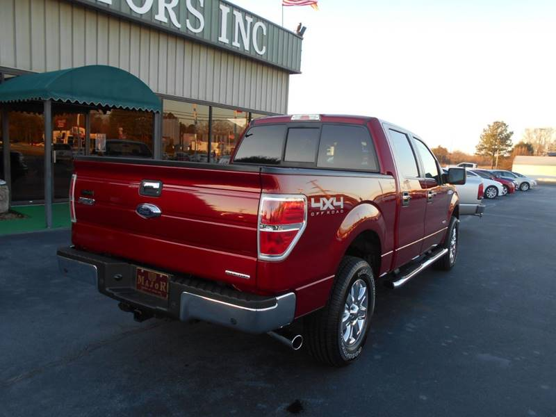 2014 Ford F 150 4x4 Xlt 4dr Supercrew Styleside 5 5 Ft Sb