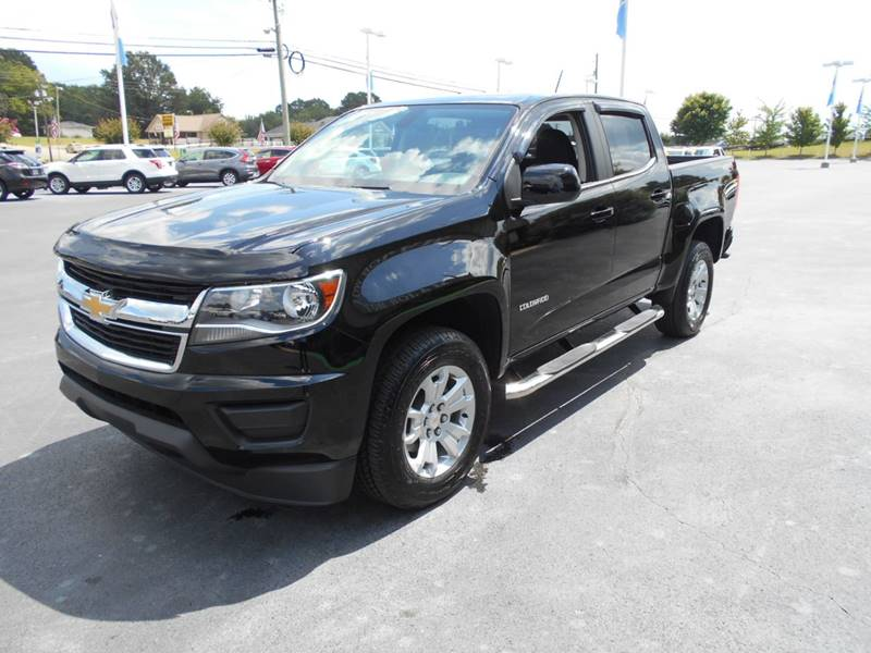 2016 Chevrolet Colorado 4x4 Lt 4dr Crew Cab 5 Ft Sb In