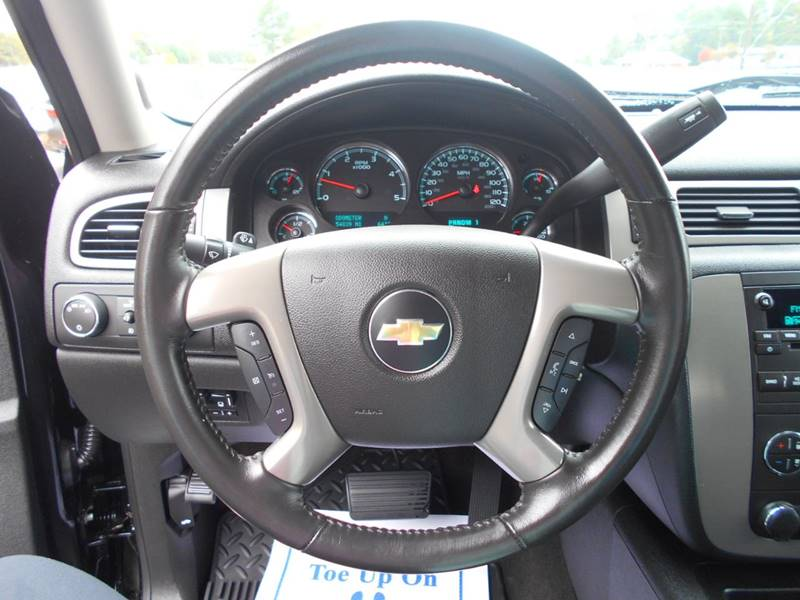 2014 Chevrolet Silverado 2500hd 4x4 Ltz 4dr Crew Cab Sb In