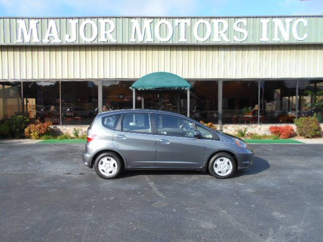2013 Honda Fit 4dr Hatchback 5a In Arab Al Major Motors