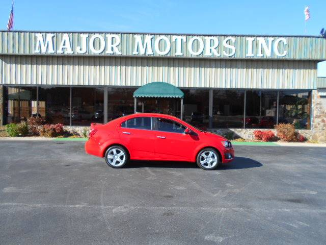 2015 Chevrolet Sonic Ltz Auto 4dr Sedan In Arab Al Major