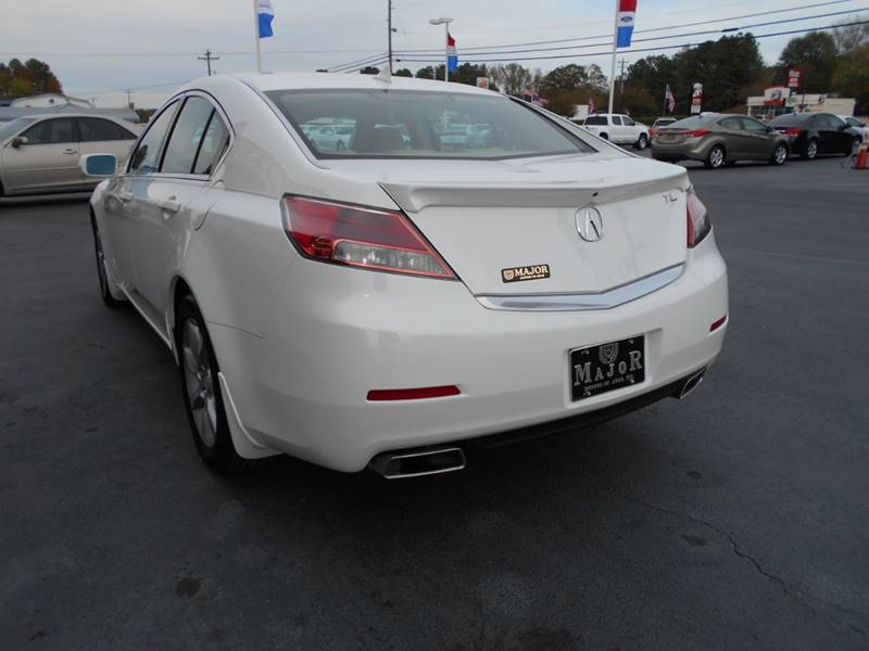 2013 Acura TL 4dr Sedan w/Technology Package - Arab AL