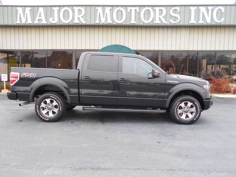 2014 Ford F-150 4x4 FX4 4dr SuperCrew Styleside 5.5 ft. SB - Arab AL