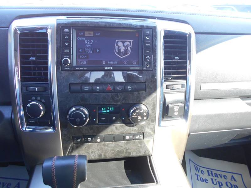 2011 RAM Ram Pickup 1500 4x4 Laramie Longhorn 4dr Crew Cab 5.5 ft. SB Pickup - Arab AL