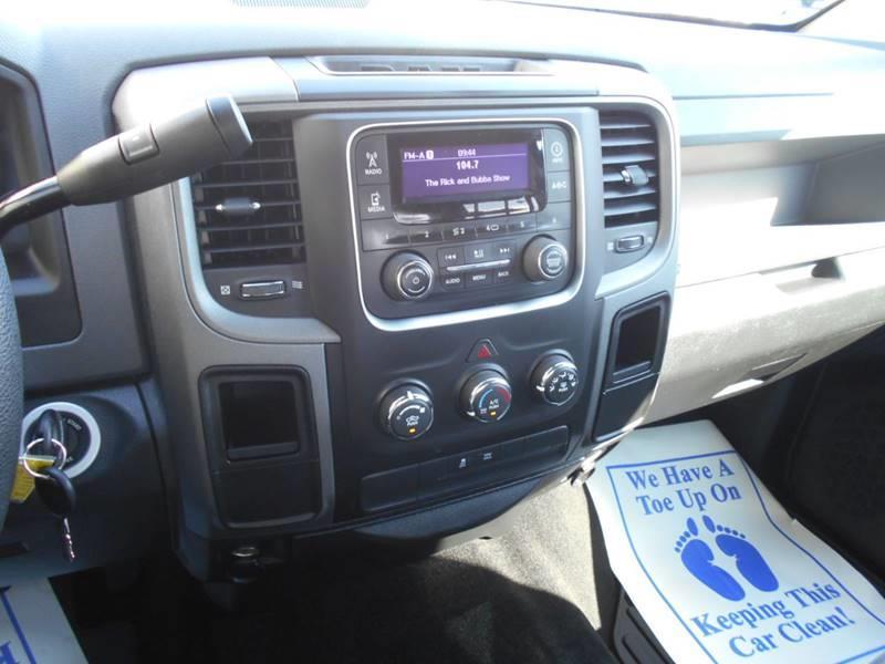 2013 RAM Ram Pickup 1500 4x2 Tradesman 4dr Crew Cab 5.5 ft. SB Pickup - Arab AL