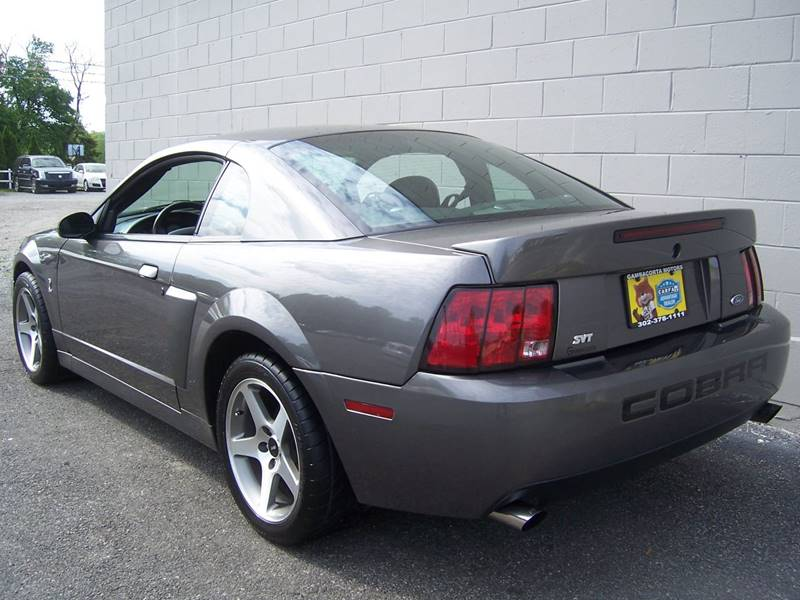 2003 Ford Mustang SVT Cobra for sale at Gambacorta Motors Inc. in Townsend DE