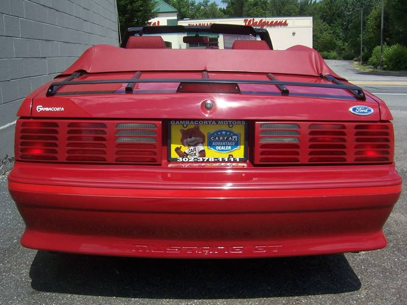 1987 Ford Mustang for sale at Gambacorta Motors Inc. in Townsend DE