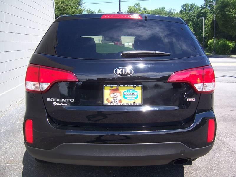 2014 Kia Sorento for sale at Gambacorta Motors Inc. in Townsend DE