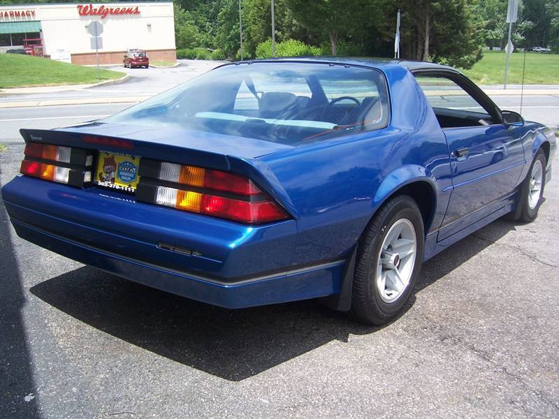 1989 Chevrolet Camaro for sale at Gambacorta Motors Inc. in Townsend DE