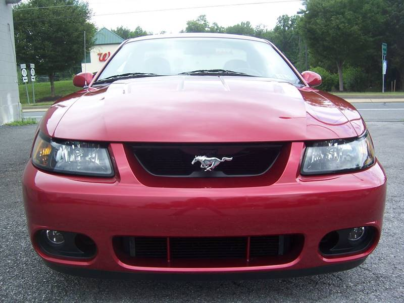 2004 Ford Mustang SVT Cobra for sale at Gambacorta Motors Inc. in Townsend DE