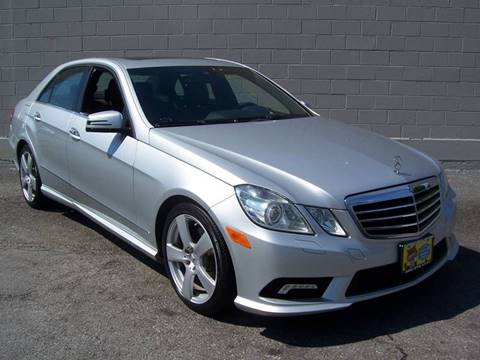 2010 Mercedes-Benz E-Class for sale at Gambacorta Motors Inc. in Townsend DE