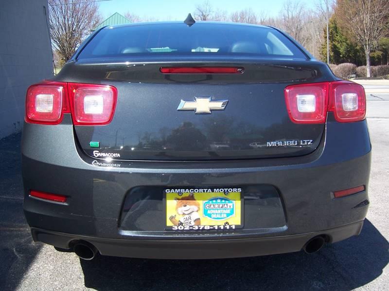 2014 Chevrolet Malibu for sale at Gambacorta Motors Inc. in Townsend DE
