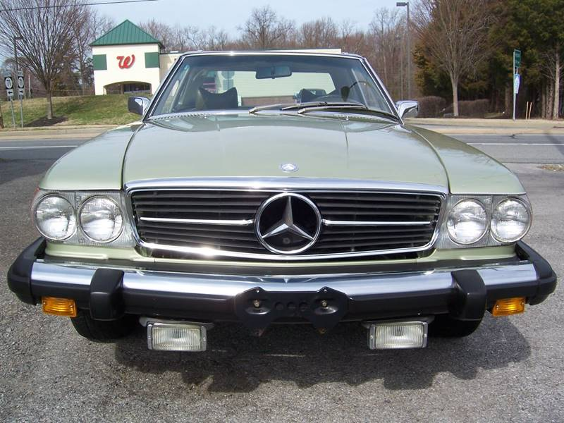 1975 Mercedes-Benz 450 SL for sale at Gambacorta Motors Inc. in Townsend DE