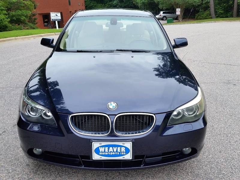 2005 BMW 5 Series 530i 4dr Sedan - Raleigh NC