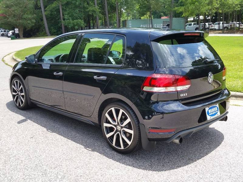 2012 Volkswagen GTI PZEV 4dr Hatchback 6M w/ Sunroof and Navigation - Raleigh NC