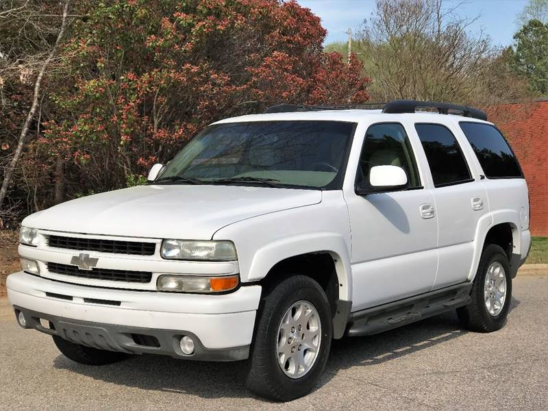 2003 Chevrolet Tahoe LT 4WD 4dr SUV In Raleigh NC - Weaver ...