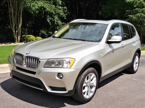 2011 BMW X3 for sale at Weaver Motorsports Inc in Raleigh NC