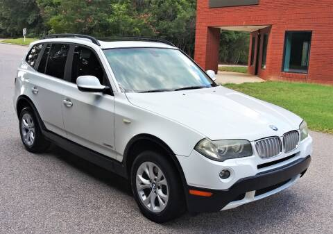 2010 BMW X3 for sale at Weaver Motorsports Inc in Raleigh NC