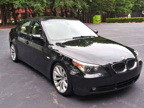 2007 BMW 5 Series for sale at Weaver Motorsports Inc in Raleigh NC