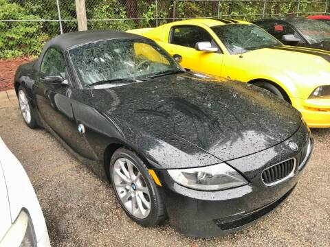 2008 BMW Z4 for sale at Weaver Motorsports Inc in Raleigh NC