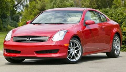 2007 Infiniti G35 for sale at Weaver Motorsports Inc in Raleigh NC