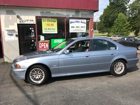 2002 BMW 5 Series for sale at Bluesky Auto in Bound Brook NJ
