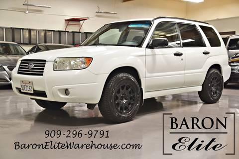 2006 Subaru Forester for sale in Upland, CA