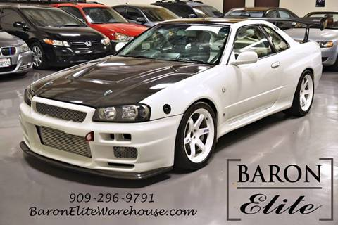 2000 Nissan Skyline R34 GTR V-Spec N1 for sale at Baron Elite in Upland CA