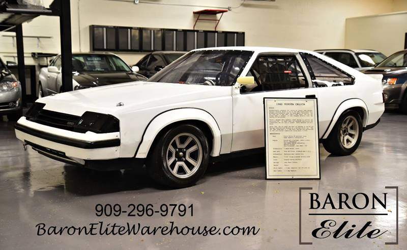 1982 Toyota Celica for sale at Baron Elite in Upland CA