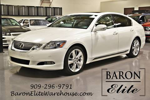 2011 Lexus GS 450h for sale in Upland, CA