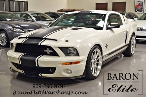2007 Ford Shelby GT500 for sale at Baron Elite in Upland CA