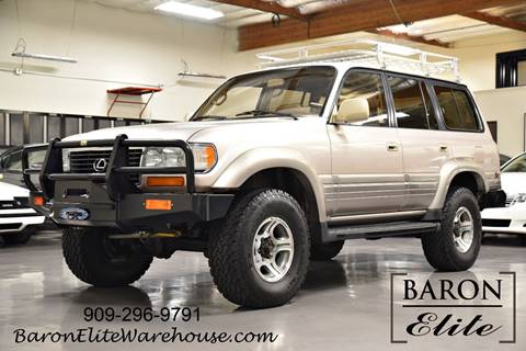 1997 Lexus LX 450 for sale at Baron Elite in Upland CA