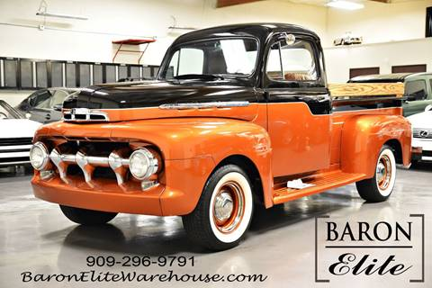 1951 Ford F-100 for sale at Baron Elite in Upland CA