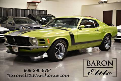 1970 Ford Mustang for sale at Baron Elite in Upland CA