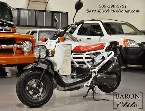 2012 Honda Ruckus for sale at Baron Elite in Upland CA