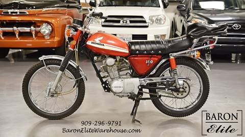 1971 Honda Cl100 Scrambler for sale at Baron Elite in Upland CA